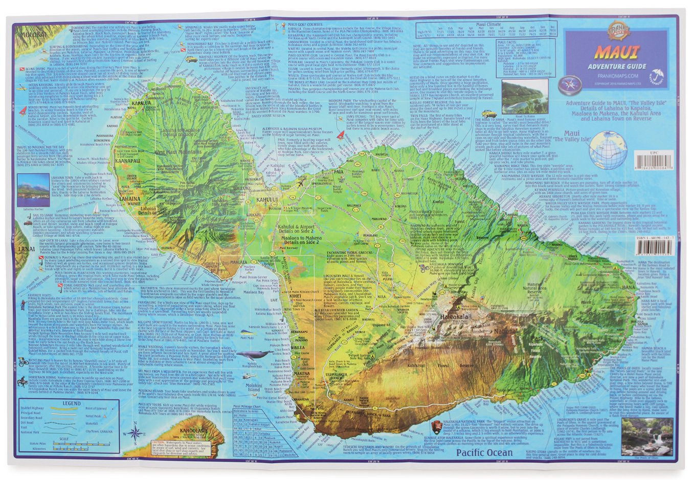 Frankos maui guide map frank m nielsen 9781601901439 amazon frankos maui guide map frank m nielsen 9781601901439 amazon books thecheapjerseys Choice Image