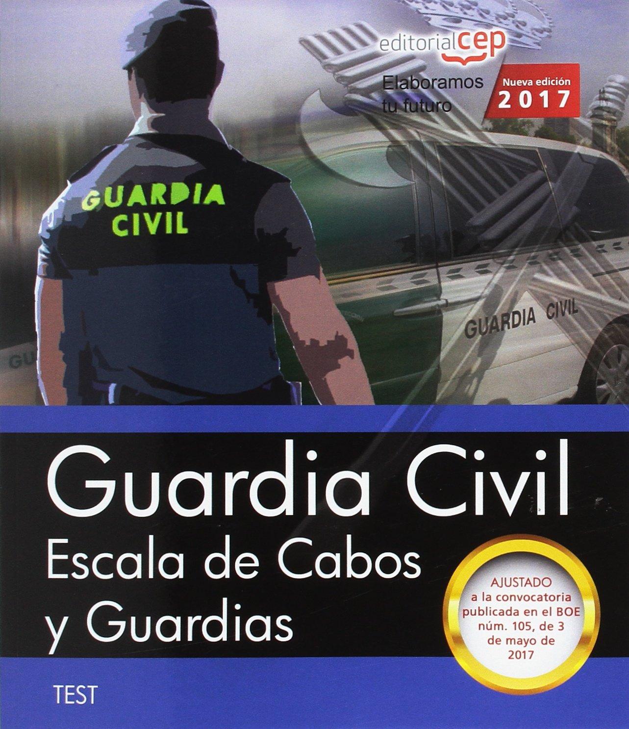 Guardia Civil. Escala de Cabos y Guardias. Test: Amazon.es ...