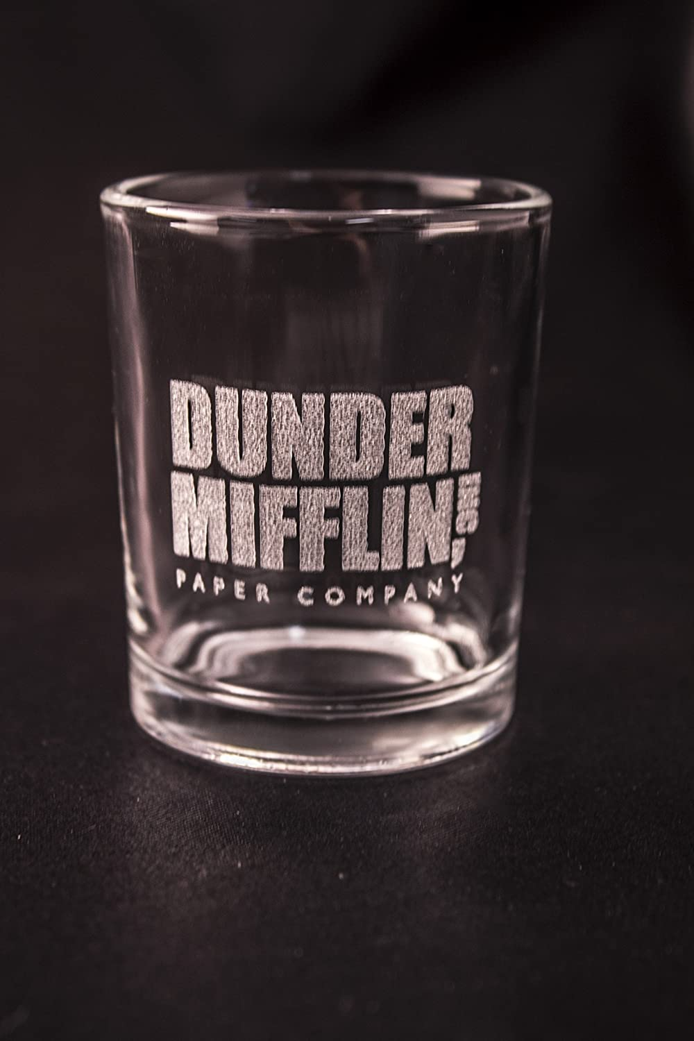 Amazon.com: The Office Shot Glass - Dunder Mifflin Paper Company ...