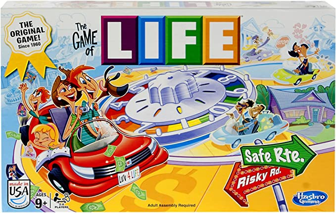 The Game of Life by Hasbro: Amazon.es: Juguetes y juegos