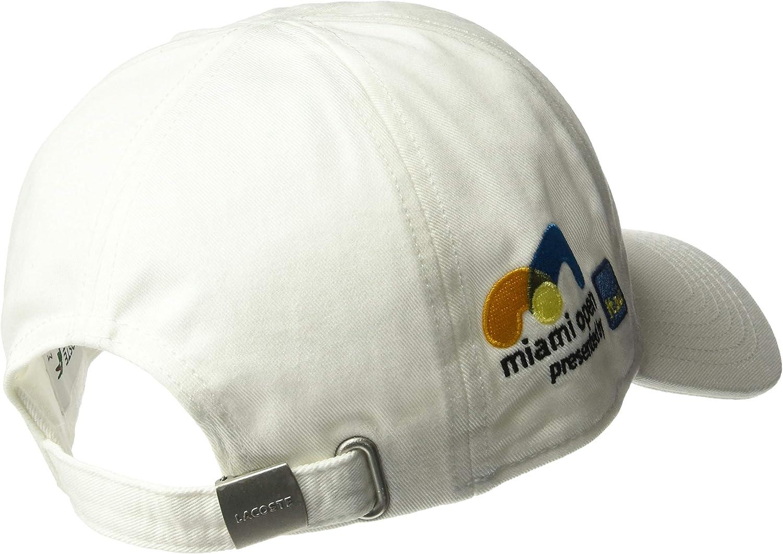 Lacoste Mens Sport Miami Open Edition Logo Cap