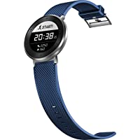 Huawei MES-B19 Fit Large Activity Tracker (Moonlight Silver Case, Blue Sport Band)