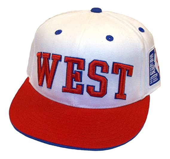 df72735dcd1 adidas West 1983 NBA All Star Game Flex Fitted Hat - L XL at Amazon ...