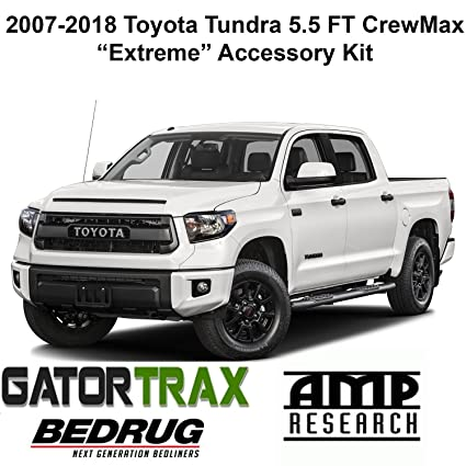 Amazon gator 2007 2018 toyota tundra 55 ft crewmax accessory gator 2007 2018 toyota tundra 55 ft crewmax accessoryquotextremequot kit electric publicscrutiny Image collections