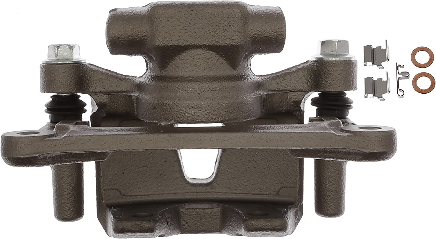 Friction Ready Non-Coated Remanufactured ACDelco 18FR12664 Professional Front Disc Brake Caliper Assembly without Pads