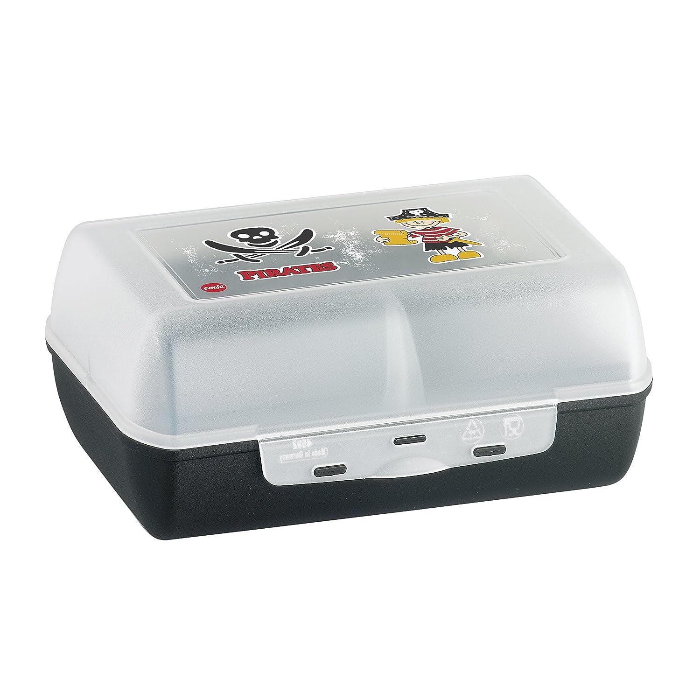 Emsa 515698 Variabolo Clipbox, BPA free, size 16 x 11 x 7 cm, green/Fox