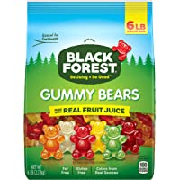 Deals on Black Forest Gummy Bears Candy, 6 lb