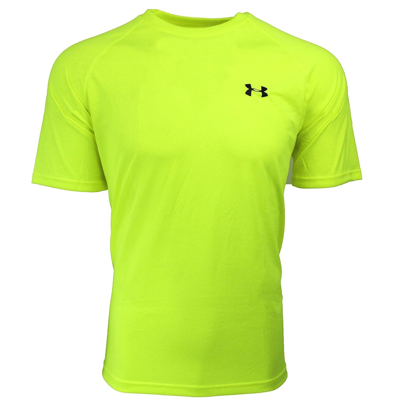 [アンダーアーマー] UA Tech SS Tee メンズ 1228539 B06Y395RKK L|Vis Yellow/Black Vis Yellow/Black L