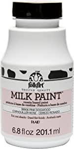 FolkArt Milk Paint in Assorted Colors (6.8 oz), 38906 Pink Dogwood