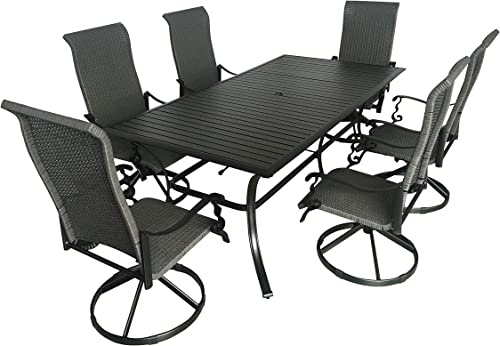 Pebble Lane Living 7-Piece Patio Dining Set