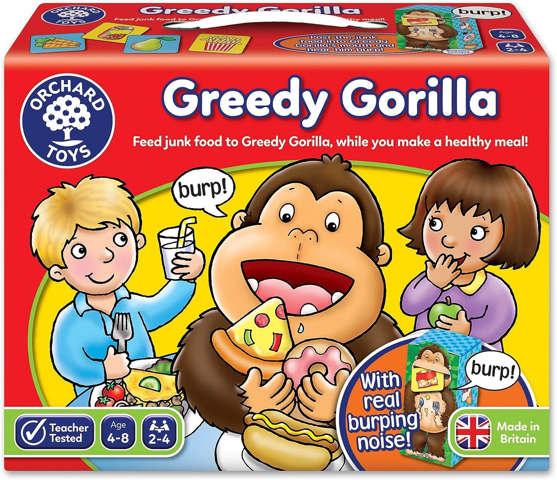 Orchard Toys Greedy Gorilla - Juego de Mesa con Ilustraciones (en ...