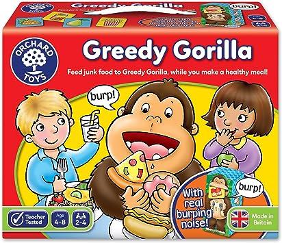 Orchard Toys Greedy Gorilla - Juego de Mesa con Ilustraciones (en inglés): Amazon.es: Juguetes y juegos