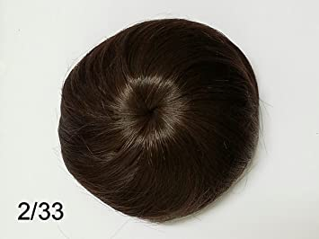 Amazon Com Hair Scrunchie Bun Straight Messy Curly Donut Up Do