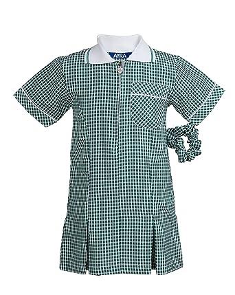 f37c2f0db Ayra Girl's School Gingham Summer Dress Age 3 4 5 6 7 8 10 12 14 16 ...
