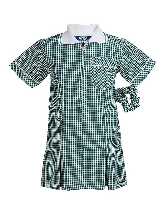40014e411ed Ayra Girl s School Gingham Summer Dress Age 3 4 5 6 7 8 10 12 14 16 ...
