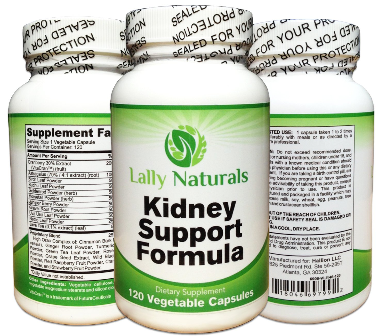 Kidney Support, Cleanse & Detox Supplement with Organic Cranberry - 120 Vegan Capsules ★ Natural Kidney Cleanse ★ Astragalus, Buchu, Juniper Berries & more. Supports the Kidneys and Urinary Tract.