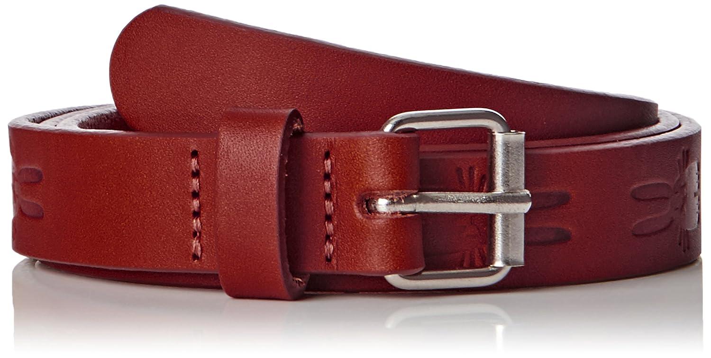 Peter Jensen Damen Gürtel Thin Rabbit Embossed Belt