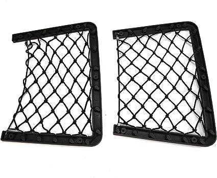 Xpork 2PCS Elastic Net Rack Storage Wallmounted Holder Car Caravan Motorhome