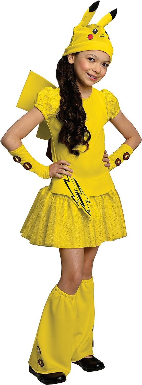 Pokemon Childs Pikachu Costume Dress, Medium