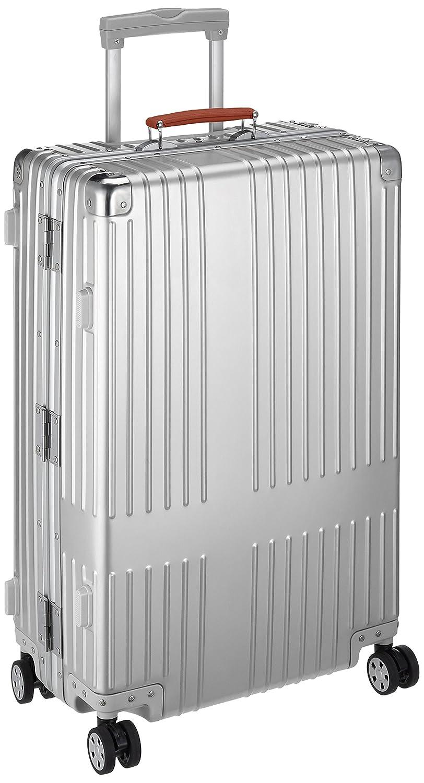 [イノベーター] スーツケース アルミキャリー フレーム | 67L | ブランドロゴレーザーなし | TSAダイヤルロック | 双輪キャスター | 多段階調整キャリーバー |保証付 67L 69cm 5.8kg INV2517 B076Q9LFFKスターリングシルバー