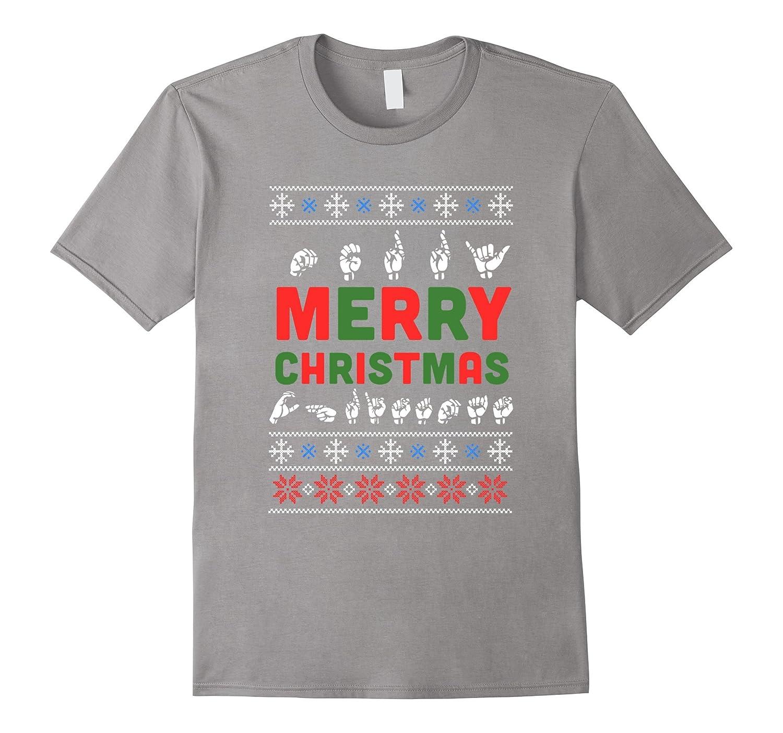 sign language merry christmas