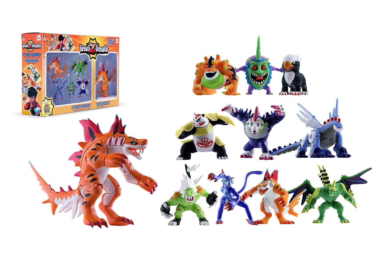 IMC Toys Invizimals - Pack 5 Figuras + Tigershark (Varios Modelos)