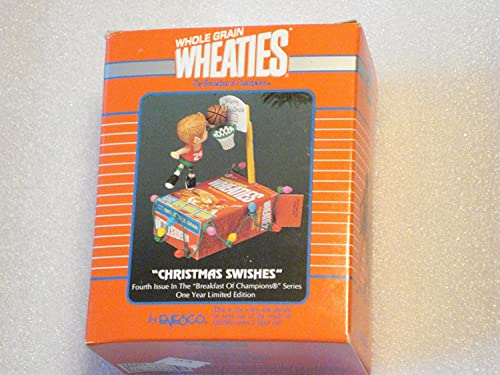 Wheaties Christmas Swishes 1994 Ltd. Edition Ornament