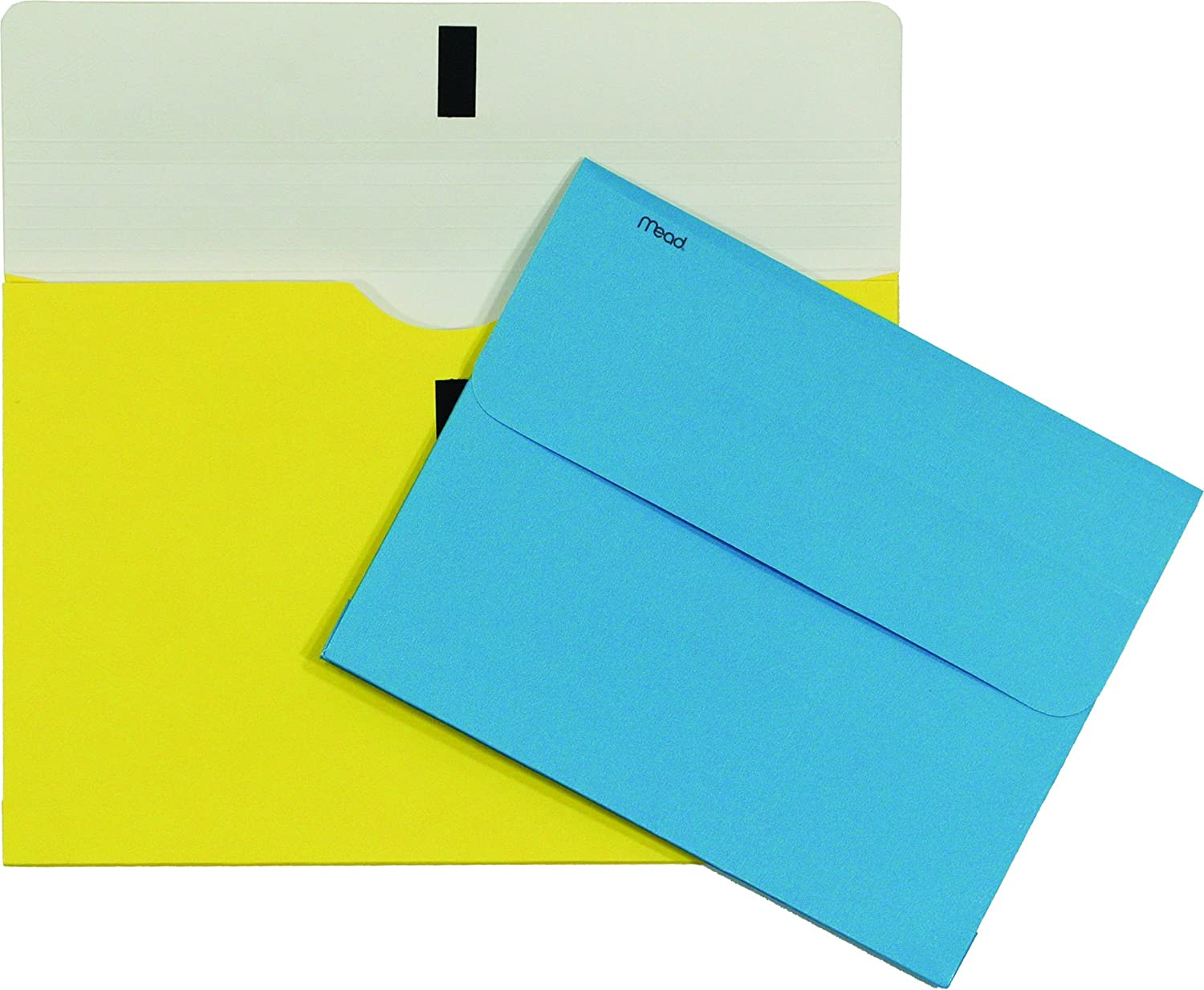 Mead 35362 Brite Wallet Storage Pocket 9-1//2x11-3//4-Inch Letter Size Assorted Colors