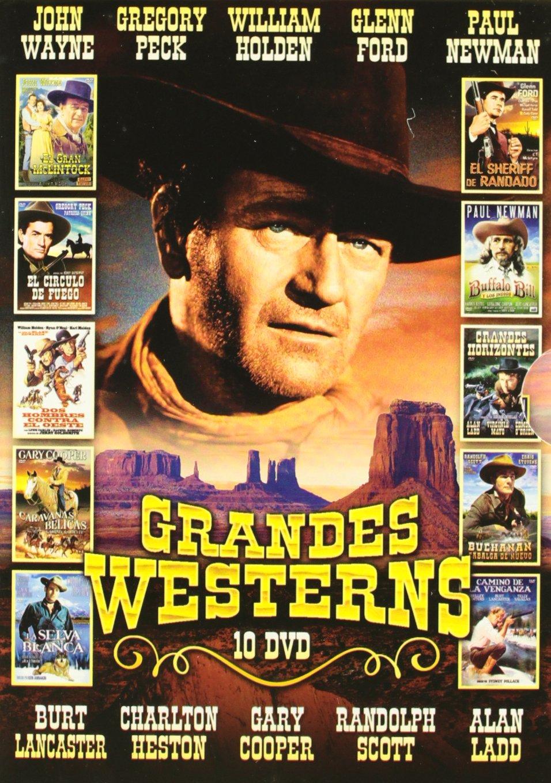 Pack Grandes Westerns (Incluye 10 Películas) [DVD]: Amazon.es ...