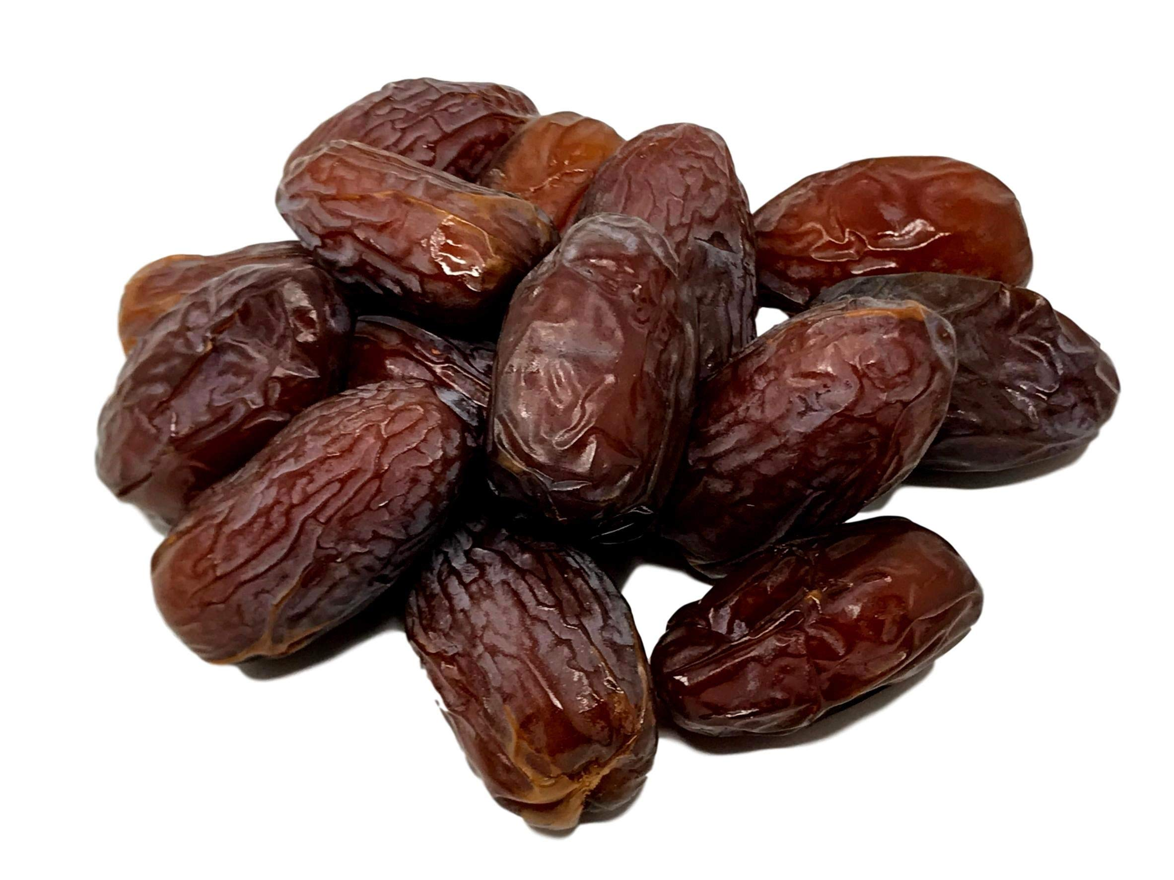 NUTS U.S. - Medjool Dates   Grown In California Desert   Juicy and Sweet   No Added Sugar and Preservatives   All Natural Dates!!! (1 LB)