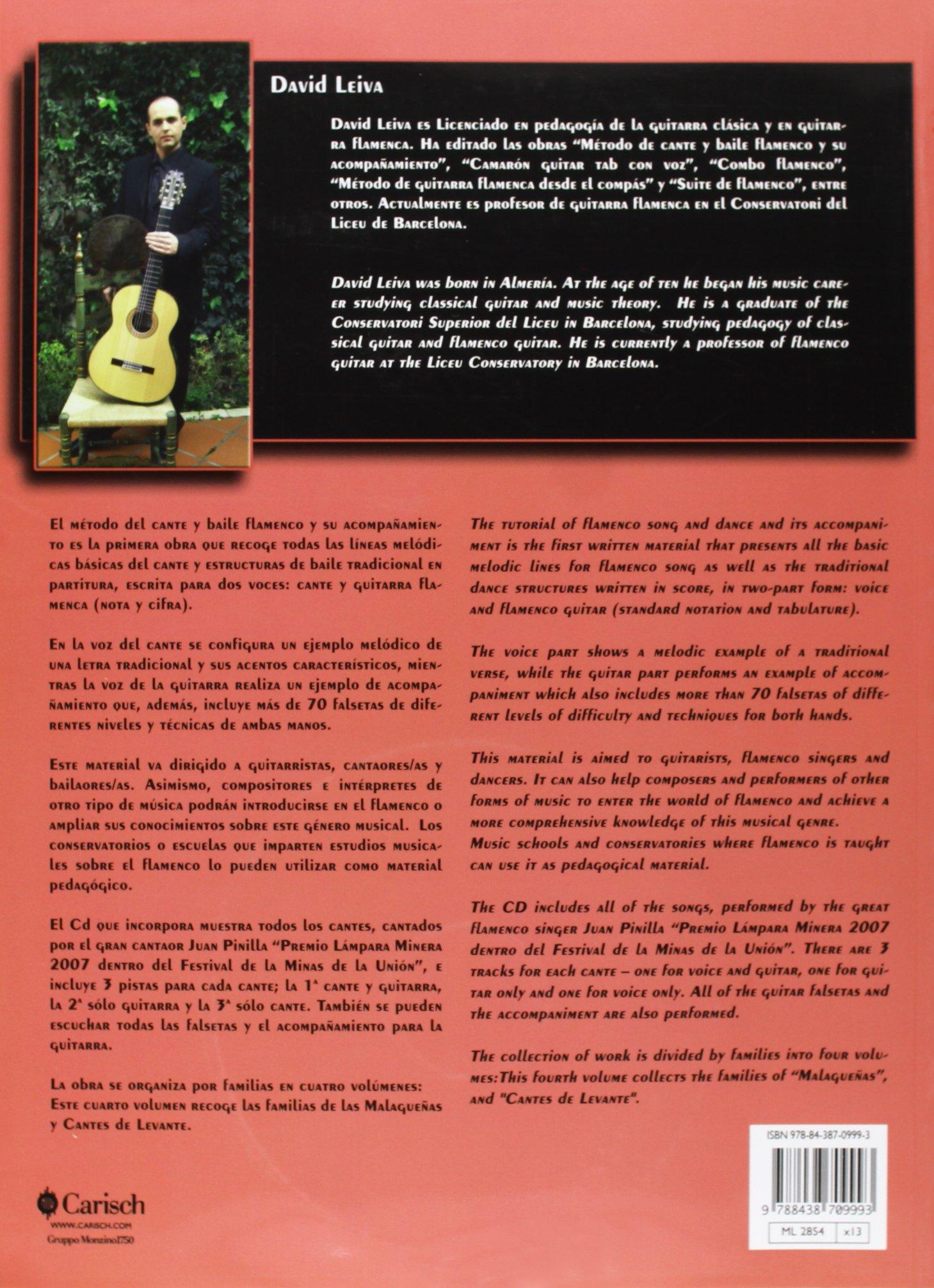 CANTE Y BAILE FLAMENCO V.1+CD Carisch Music Lab Spagna: Amazon.es ...