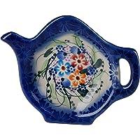 Pequeño soporte polaco de cerámica para bolsa
