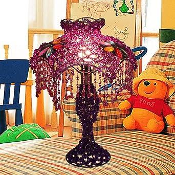 Personalisierte dekorative lampe Perlen lampenschirm Schlafzimmer ...