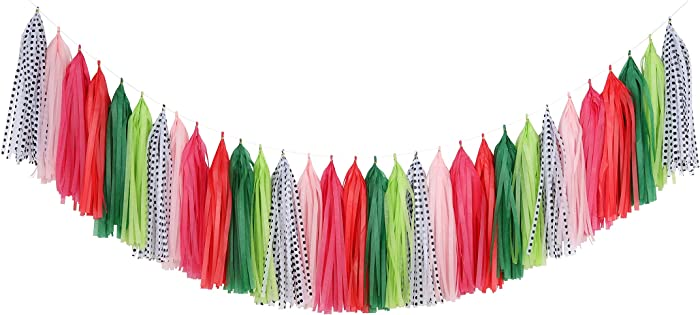 Top 9 Red Green And Pink Party Decor