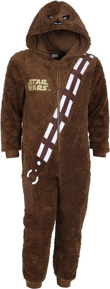 -:- Star Wars -:- Disney -:- Pijama marrón Chewbacca