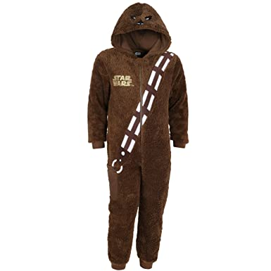 03f3a76062 Disney Star Wars Chewbacca Ganzkörper Schlafanzug Einteiler Pyjama  Strampelanzug - 3-4 Jahre 104 cm