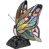 "Chloe Lighting CH33300BM05-NL1 ""Jacy 6"" Tiffany-Style Butterfly 1 Light Accent Table Lamp 10"" Tall"