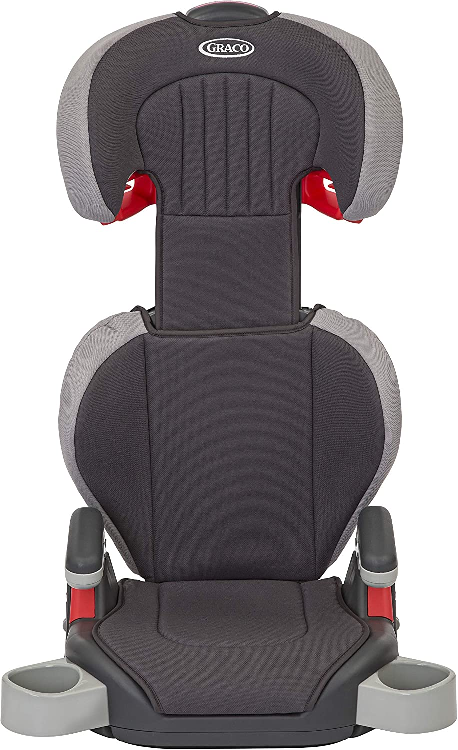 Graco Junior Maxi Lightweight Highback Booster Car Seat Iron Group 2//3 4 to 12 years, 15-36 kg