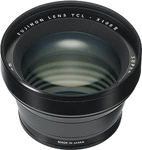 Fujifilm Fujinon Tele Conversion Lens for X100 Series Camera, Black (TCL-X100 B II)