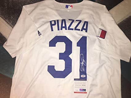 on sale 4d0f5 d467a Mike Piazza Signed Jersey - World Classic Team Italy - PSA ...