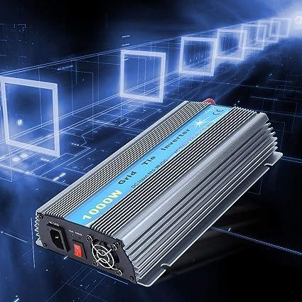 Jeanoko Inversor Inversor Solar 230V Conexión a Red Solar Micro Inverter Equipo Conectado a la Red para generación de energía para Cine(European regulations)