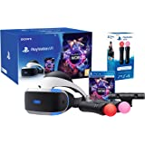 "PlayStation VR ""Starter Plus Pack"" + VR Worlds + Twin Move Controllers + Camera V2"