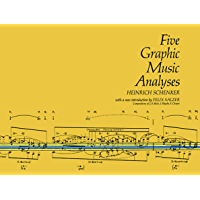Five Graphic Music Analyses (Dover Books on Music) book cover