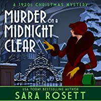 Murder on a Midnight Clear: A 1920s Christmas Mystery (High Society Lady Detective, Book 6)