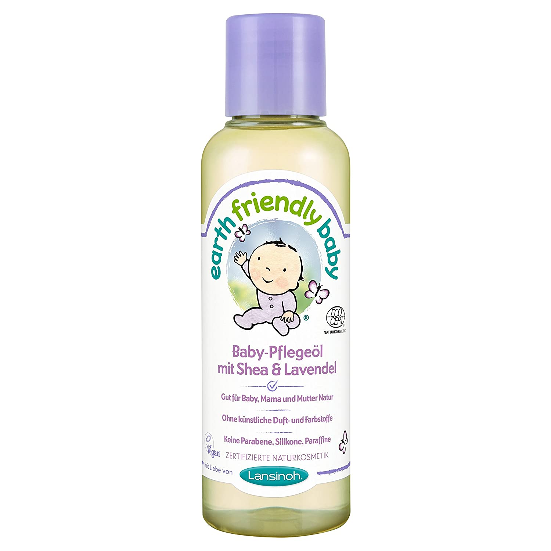 Lansinoh 82213 Baby-Pflegeöl mit Shea & Lavendel, Natur- und Biokosmetik, 125 ml 517237