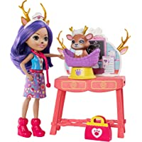 Enchantimals - Clínica de mascotas, muñeca con accesorios