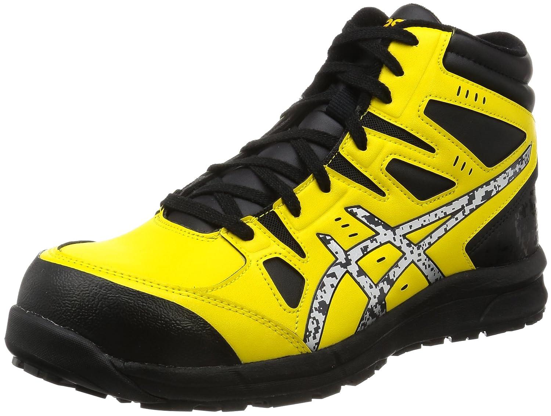 [asics working(アシックスワーキング) (ASIET)] 安全靴作業靴  FCP105 B01MR97E5Q ブライトイエロー/シルバー 27.5 cm