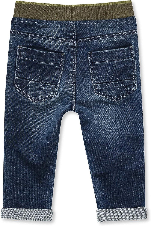 M/&Co Little Boys Jeans Dinosaur Embroidery 9Mths-5Yrs