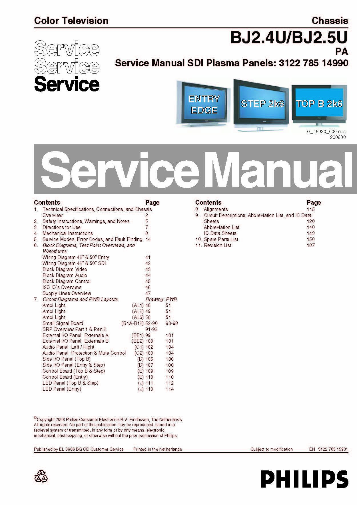 Philips 42pf9431d37 42pf9431d37 service manual with schematics philips 42pf9431d37 42pf9431d37 service manual with schematics philips amazon books fandeluxe Images