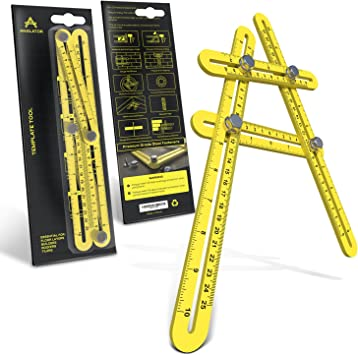 4pcs Drill Scribe Line Templates Ruler Details Craft Tools AJ0091 for Alexen Model